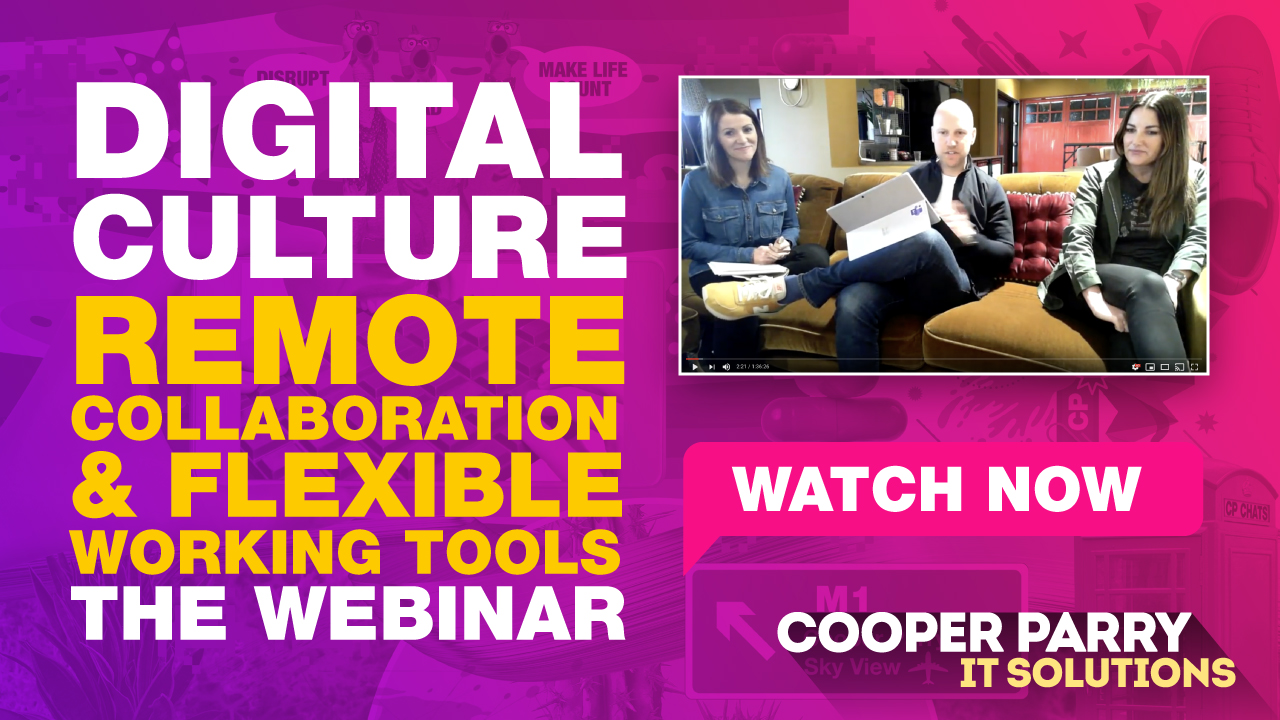 Watch the remote working webinar now