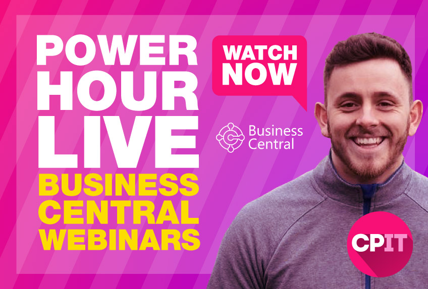 Watch the Business Central week of webinars now.