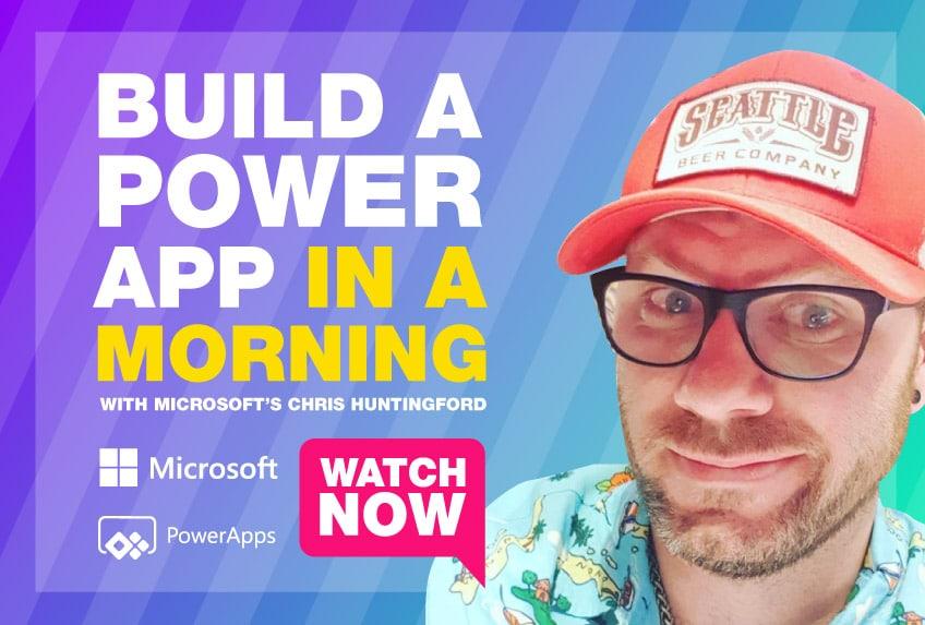 Watch the Microsoft Power BI app tutorial now