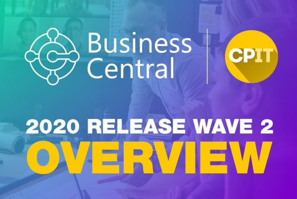 Business Central 2020 Release Wave 2 Overview