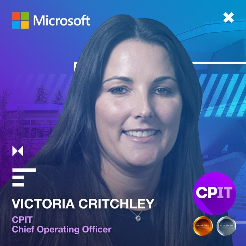 Vicky Critchley, CPIT COO