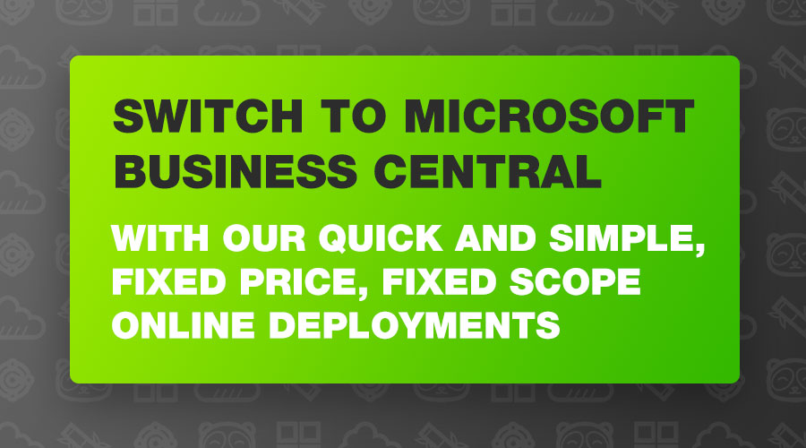 Switch to Microsoft Business Central with Bam Boom Cloud UK