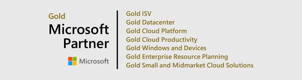 Microsoft Gold Partner - Bam Boom Cloud