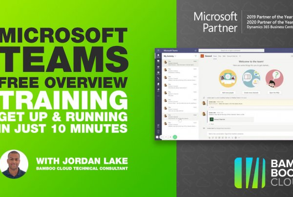 Download the quick start guide to Microsoft Teams from Bam Boom Cloud