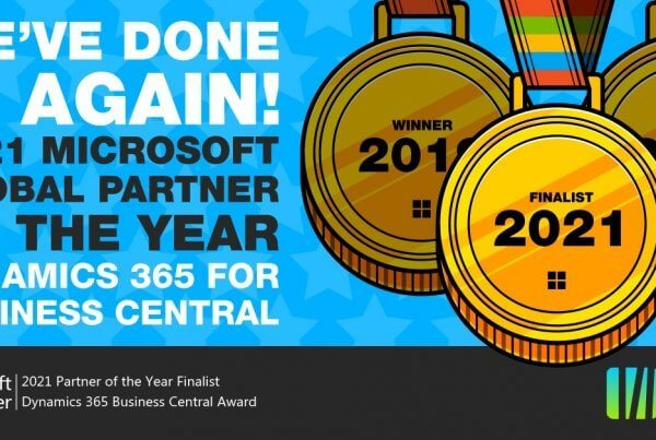 Bam Boom Cloud announced as 2021 Microsoft Partner of the Year Dynamics 365 Business Central