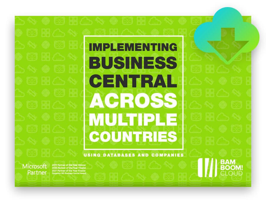 Download the guide to localisation in Business Central