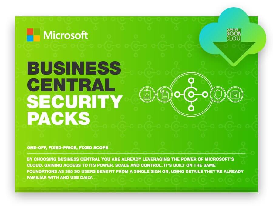 Download the guide to Business Central security packs
