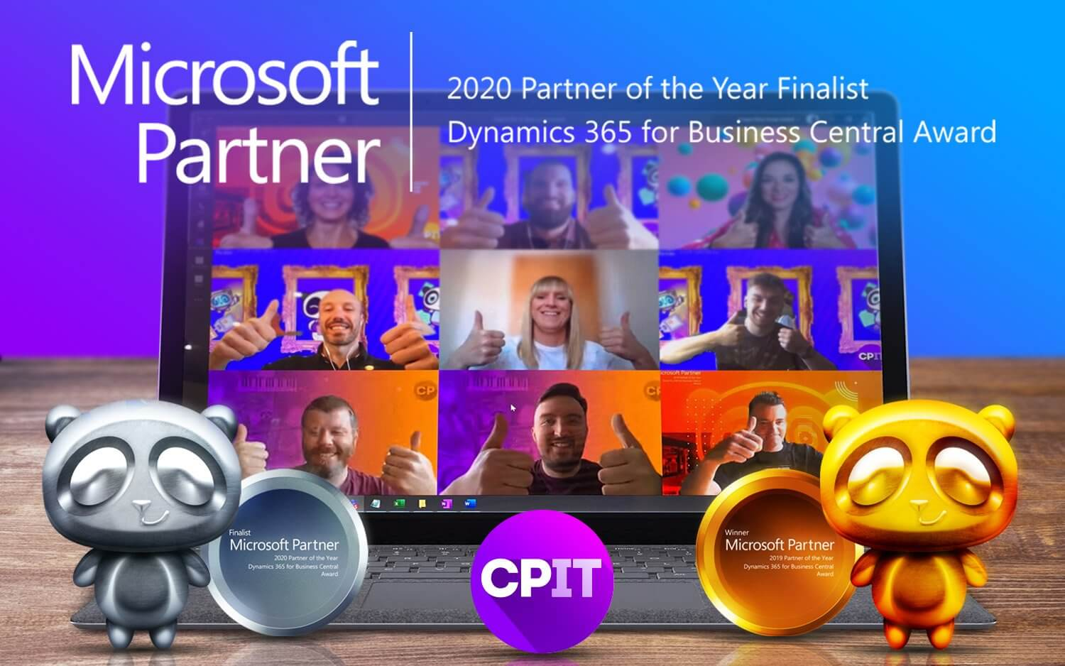 CPIT AWARDED FINALIST IN THE 2020 MICROSOFT DYNAMICS 365 BUSINESS CENTRAL PARTNER OF THE YEAR AWARDS