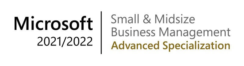 Microsoft Small 7 Midsize Business Management Advanced Specialisation