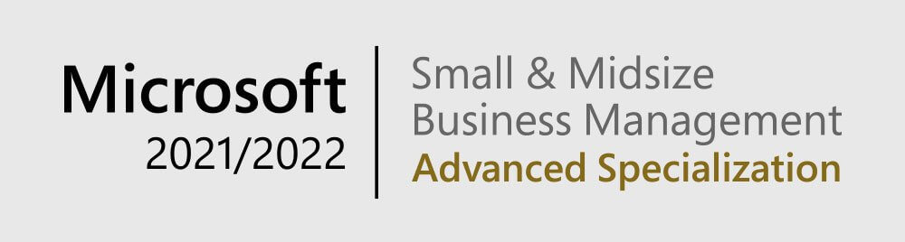 Microsoft Small & Midsize Business Management Advanced Specialization